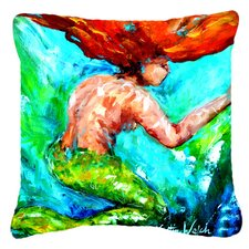 Mermaids Heaven Indoor/Outdoor Throw Pillow