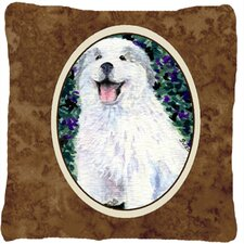 Great Pyrenees Indoor/Outdoor Throw Pillow