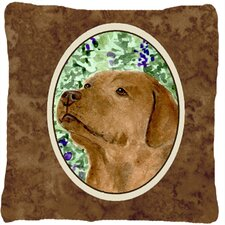 Bargain Labrador Indoor/Outdoor Throw Pillow