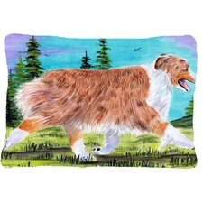 Cheap Australian Shepherd Indoor/Outdoor Throw Pillow