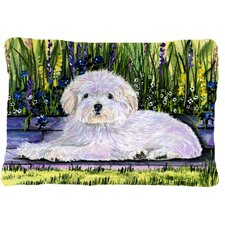 2017 Online Coton De Tulear Indoor/Outdoor Throw Pillow