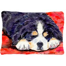 Bernese Mountain Dog Indoor/Outdoor Throw Pillow
