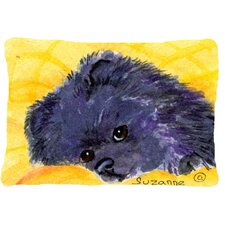 Top Reviews Pomeranian Indoor/Outdoor Throw Pillow