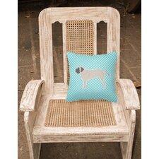 English Mastiff Indoor/Outdoor Throw Pillow