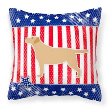 Patriotic Indoor/Outdoor Throw Pillow