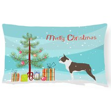 Boston Terrier Indoor/Outdoor Lumbar Pillow