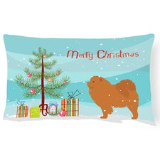 Chow Chow Indoor/Outdoor Lumbar Pillow
