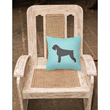 Herry Up Giant Schnauzer Indoor/Outdoor Throw Pillow