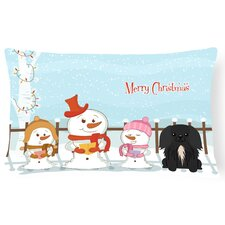 Merry Christmas Indoor/Outdoor Lumbar Pillow