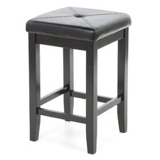 "Honor 24"" Bar Stool with Cushion (Set of 2)"
