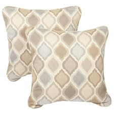 Read Reviews Bateson Outdoor Throw Pillow (Set of 2)