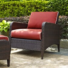 Cool Boller Arm Chair with Cushion