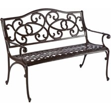 Herry Up Mackey Aluminum Garden Bench