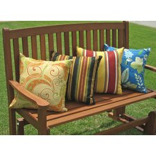 Edmonson All Weather Outdoor Throw Pillow (Set of 2)