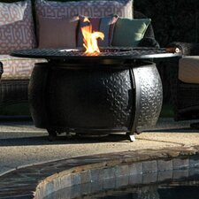 Massengill Aluminum Gas Fire Pit Table
