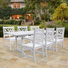 Read Reviews Mahler 7 Piece Dining Set