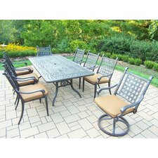 Vandyne 9 Piece Dining Set with Cushions