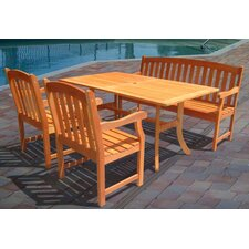 Cotten 4 Piece Dining Set