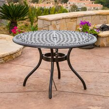 Usrey Outdoor Aluminum Dining Table