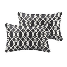Valier Outdoor Lumbar Pillow (Set of 2)