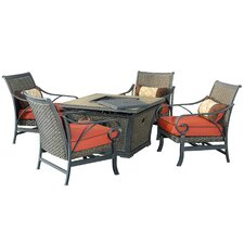 Wonderful Jane 5 Piece Deep Seating Group