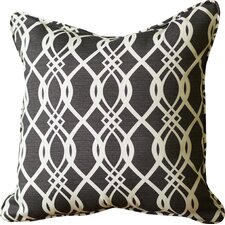 Byron Wavy Indoor/Outdoor Throw Pillow (Set of 2)