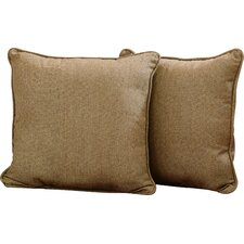Osmond Sunbrella Outdoor Acrylic Throw Pillow (Set of 2)