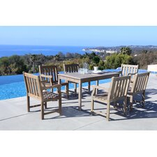 Lovely Densmore 7 Piece Dining Set