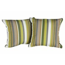 Bargain Ansara Indoor/Outdoor Sunbrella Throw Pillow (Set of 2)