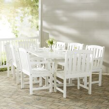 Wonderful Mahler 9 Piece Dining Set