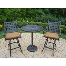 Discount Vandyne 3 Piece Bar Set with Cushions