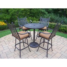 Vandyne 5 Piece Bar Set with Cushions