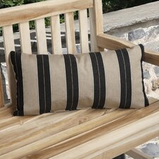 Dawn Knife Edge Indoor/Outdoor Sunbrella Lumbar Pillow (Set of 2)
