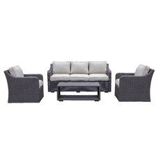 Danby 4 Piece Deep Seating Group with Cushion