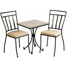 Dallastown 3 Piece Bistro Set