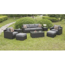 Dorothy 8 Piece Deep Seating Group with Cushions