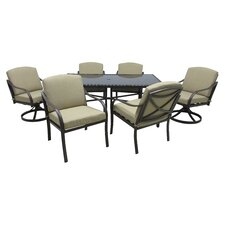 Comparison Callingwood 7 Piece Dining Set with Cushions