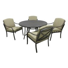 Callingwood 5 Piece Dining Set with Cushions