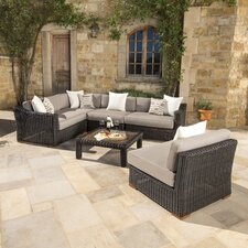 Monroeville 6 Piece Sectional Seating Group with Cushion