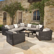 Monroeville 8 Piece Sectional Seating Group with Cushion