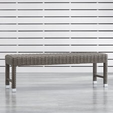 Read Reviews Rathdowney Aluminum/Wicker Picnic Bench