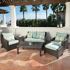 Gaston 6 Piece Deep Seating Group with Cushions