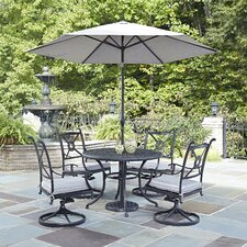 Cool Lansdale 7 Piece Dining Set with Cushions