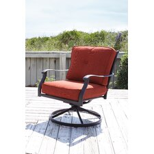 Hanson Swivel Lounge Chair (Set of 2)