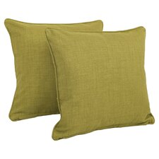 Duquette Mix Pattern Outdoor Throw Pillow (Set of 2)