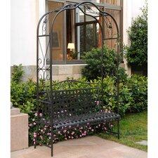Clarence Iron Garden Bench