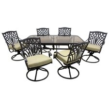 Boulevard 7 Piece Dining Set with Cushions