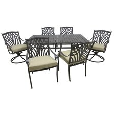 Find Boulevard 7 Piece Dining Set with Cushions