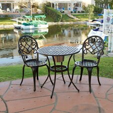 Chestnut Street 3 Piece Bistro Set