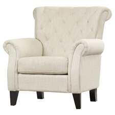 Jaymee Tufted Upholstered Arm Chair